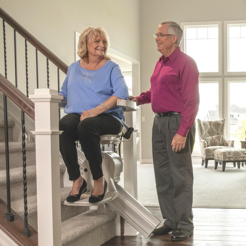woman-at-stairlift