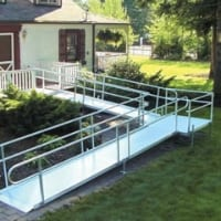 modular wheelchair ramp