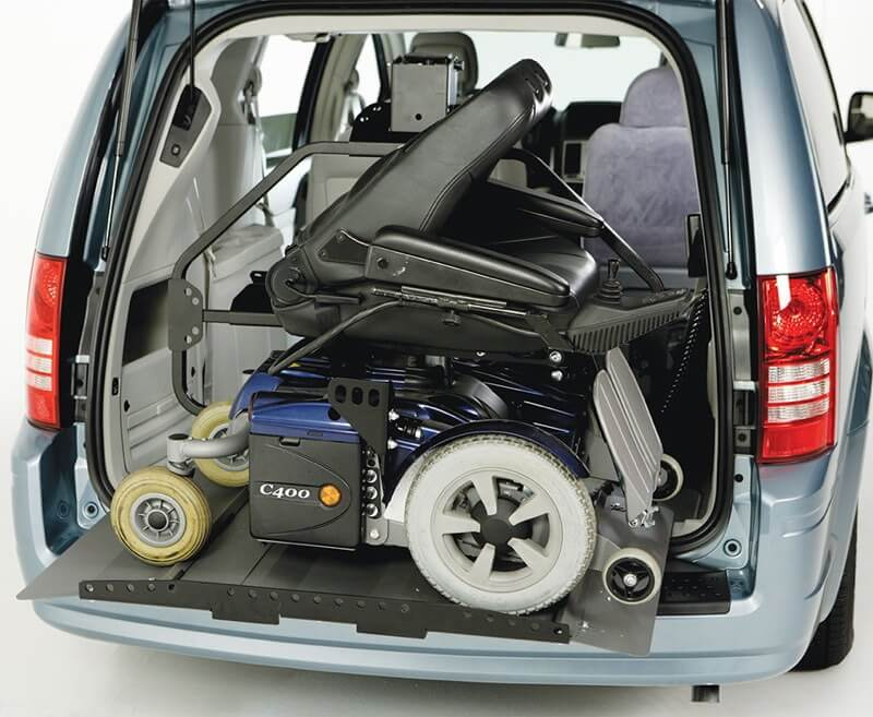 suv with platform to lift scooter