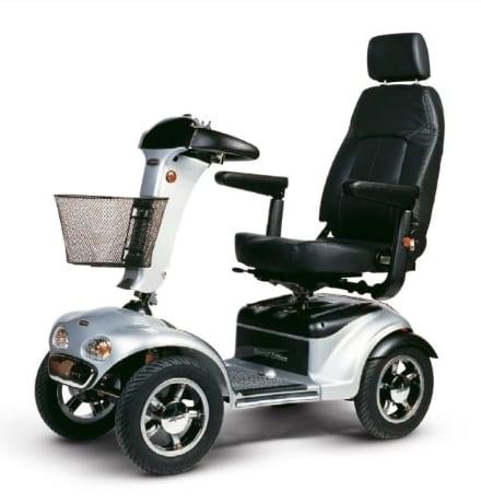 Shoprider Trailblazer sporty fast mobility scooter