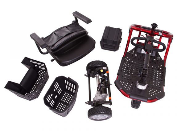 assembly components of portable scooter