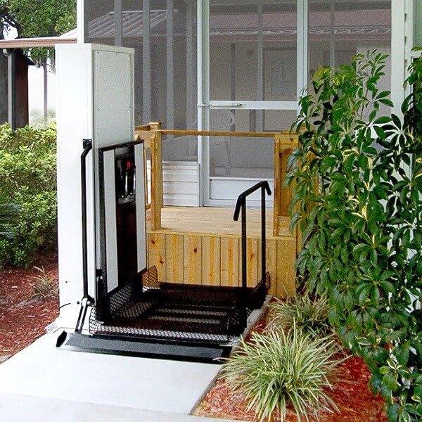 porch wheelchair lift