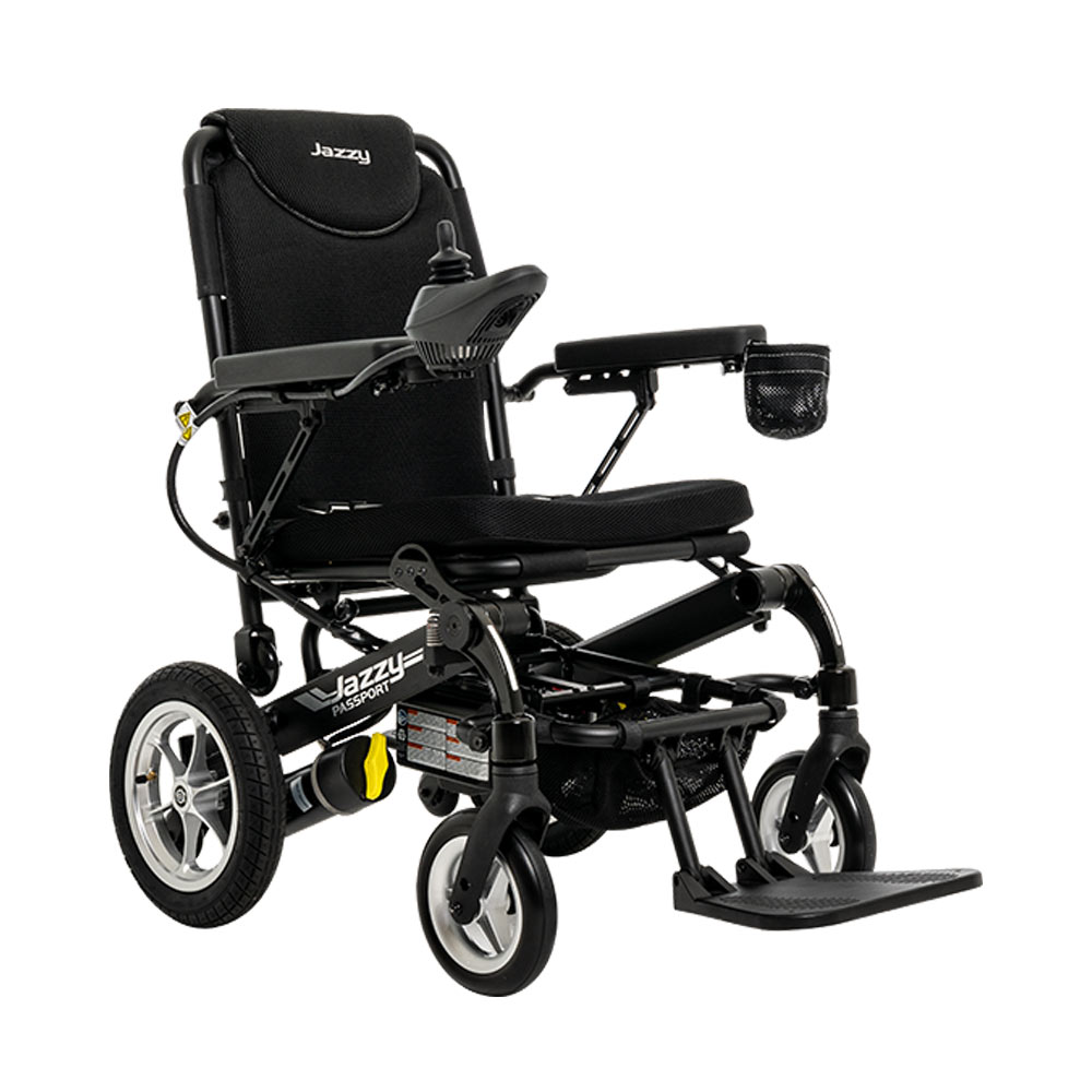 folding power chair from Pride
