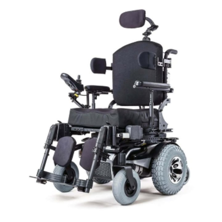 High end rehab power wheelchair