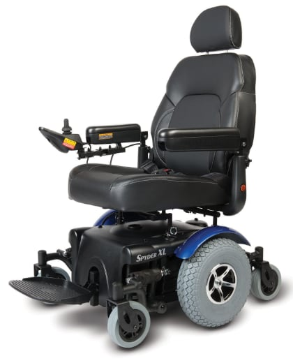 spyder model of power wheelchair