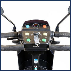 Amylior Gs 200 Compact Scooter controls