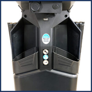 Amylior Gs 200 Compact Scooter storage